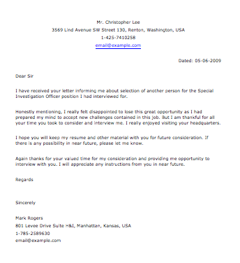 Sample police letter smart letters follow up letter for police jobs expocarfo Choice Image
