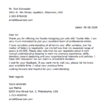 sample negotiation letter