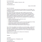Sample Police Letter