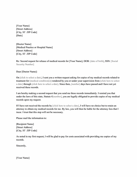 Sample Inquiry Letter