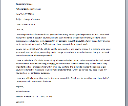 Complaint Letter to Bank for Erroneously Bounced Checks - Smart Letters