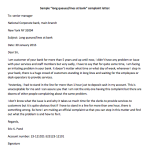 """Long Queues/Lines at Bank"" Complaint Letter"