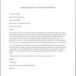 Sample Complaint Letter for an error in Credit Card Statement