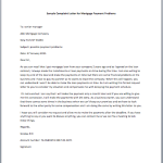Sample Letter to Mortgage Company for Submitting Enclosed Documents