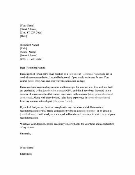 Recommendation Letter Sample For College from www.smartletters.org