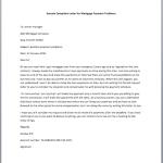mortgage default letter template - complaint response letter smart letters