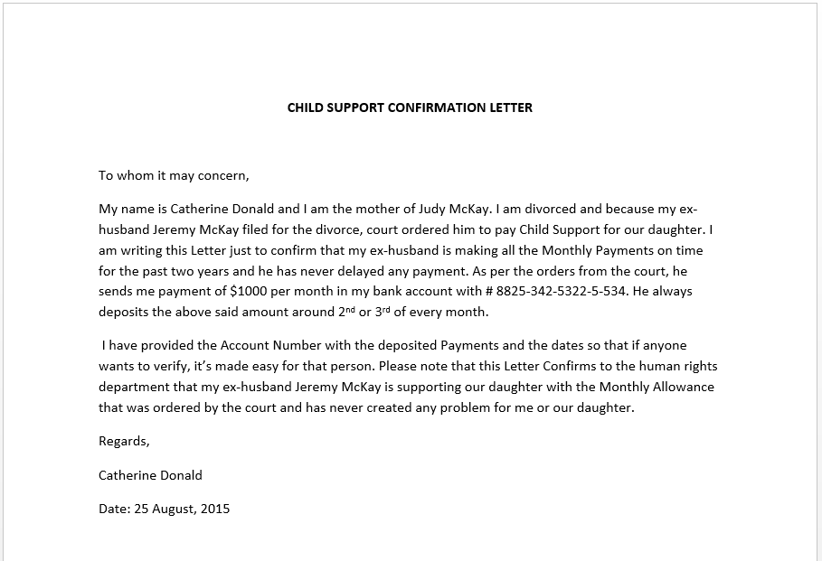 Notarized Letter Of Support from www.smartletters.org